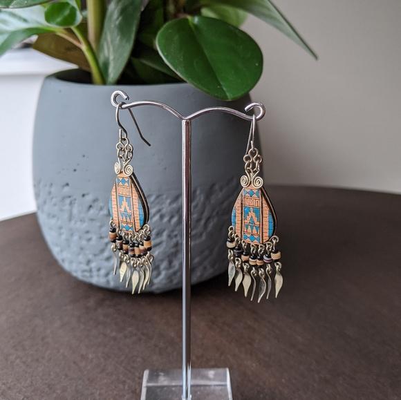 Vintage boho earrings